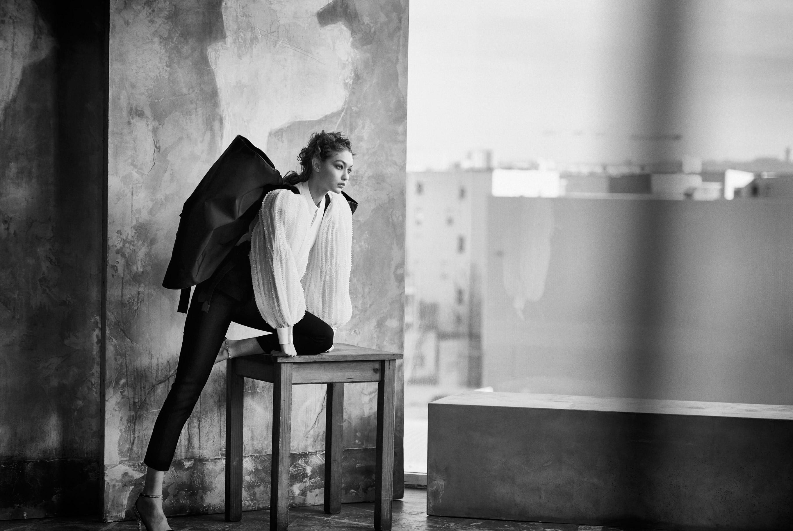 Джиджи Хадид в журнале Vogue Arabia, март 2019 / фото 03