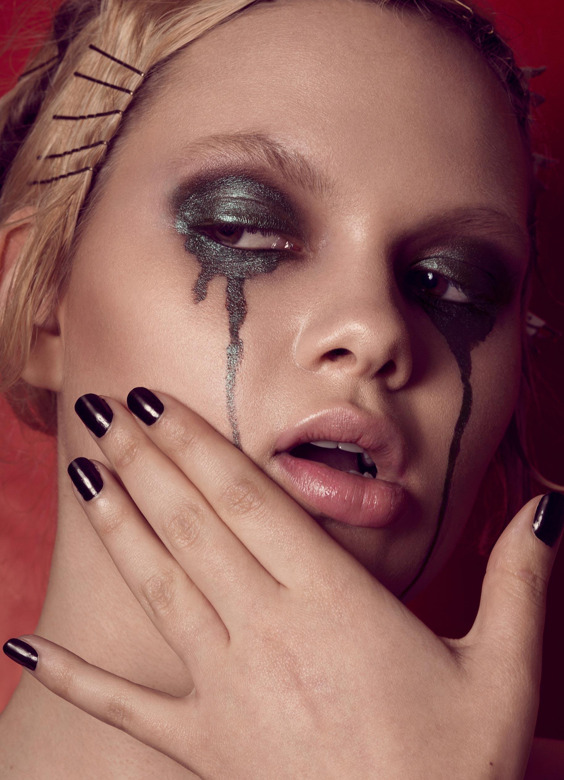 Нестандартный макияж Вероники Линн / фото 06