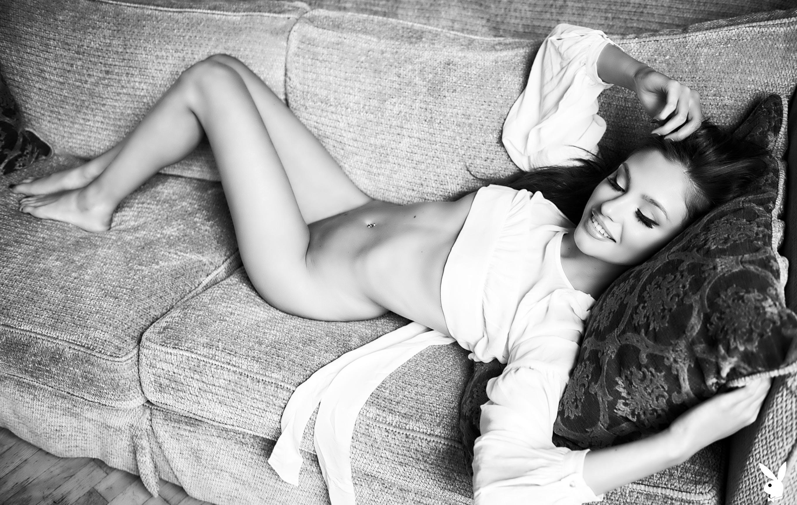 Хейли Миган - Девушка месяца Playboy Чехия, март 2018 / фото 05