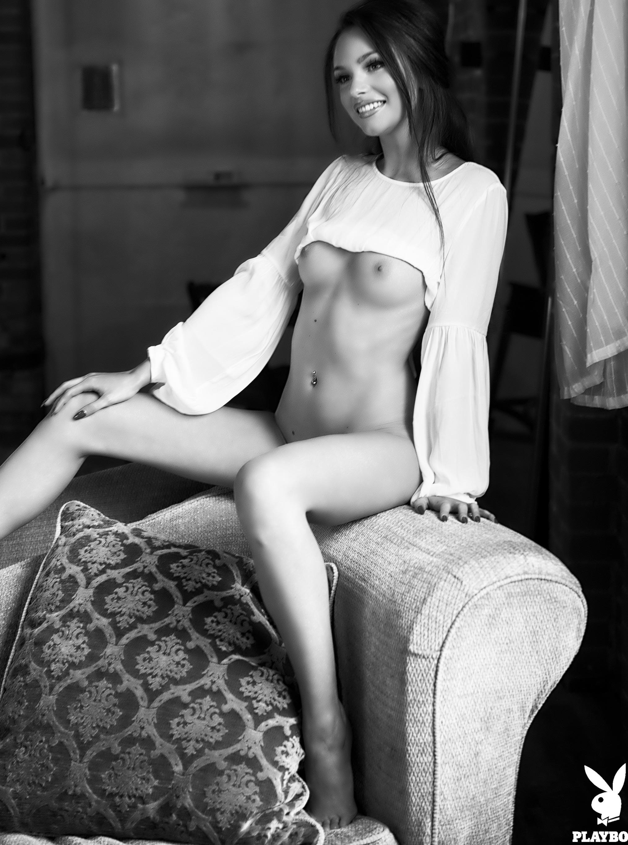 Хейли Миган - Девушка месяца Playboy Чехия, март 2018 / фото 07