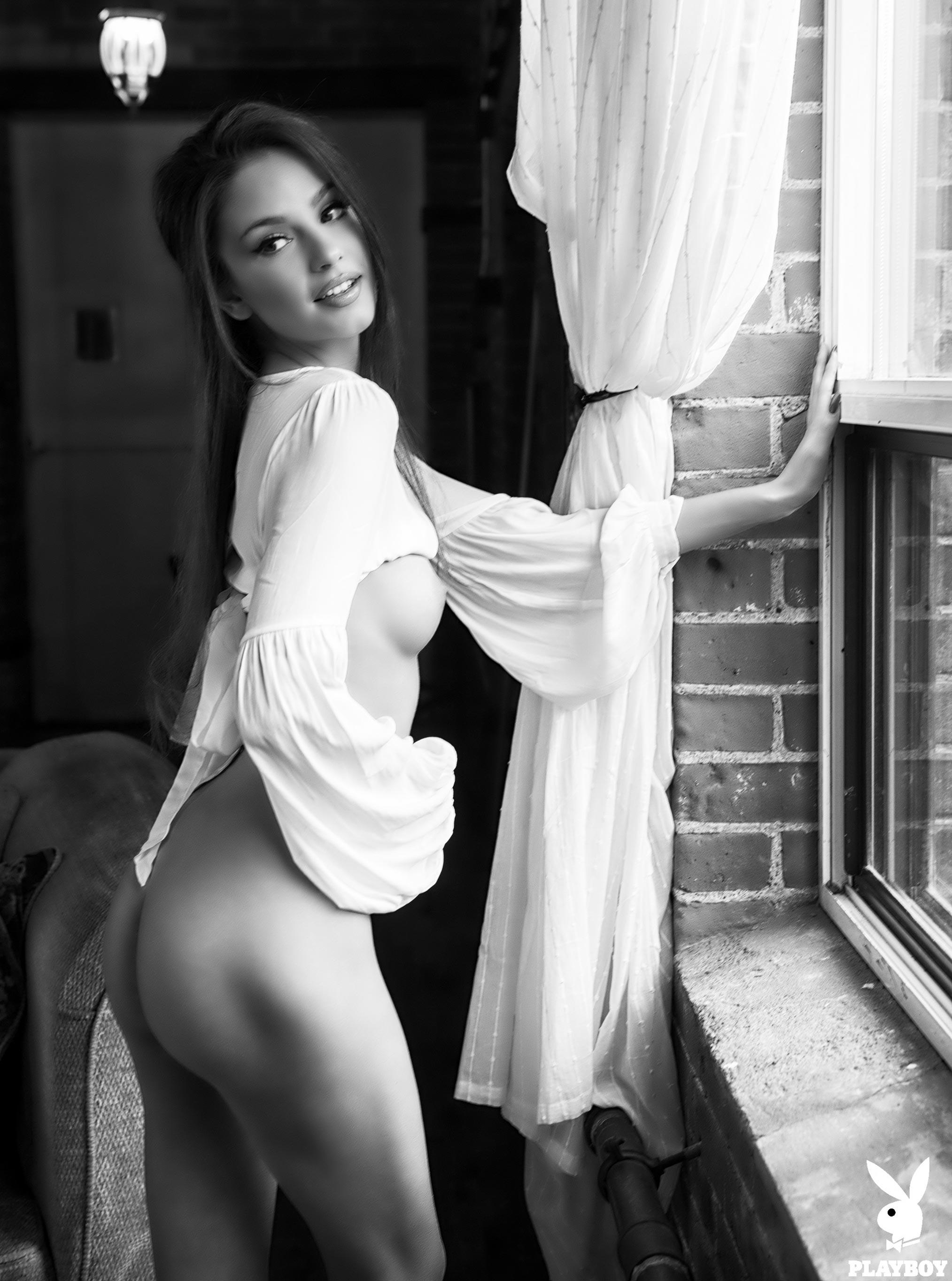 Хейли Миган - Девушка месяца Playboy Чехия, март 2018 / фото 09
