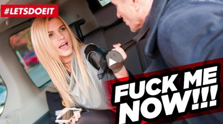 FuckedInTraffic: Karina Grand Czech Taxi Driver Cums several Times in Hot Russian Pussy [FullHD 1080p]