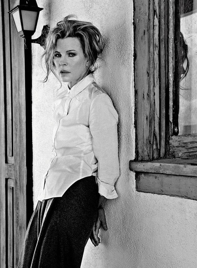 Ким Бейсингер в журнале Flaunt, июль 2014 / фото 05
