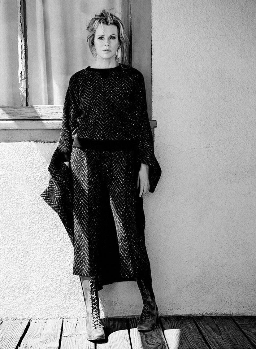 Ким Бейсингер в журнале Flaunt, июль 2014 / фото 09
