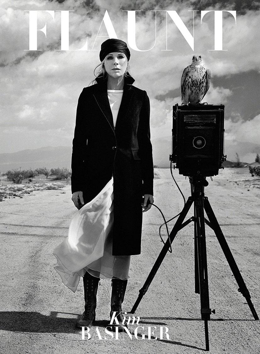 Ким Бейсингер в журнале Flaunt, июль 2014 / фото 16