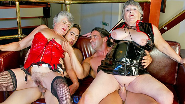British Sex Films - Two old Grannies get Drilled by Younger Guys!: 146 MB: FullHD 1080p - [BritishSexFilms]