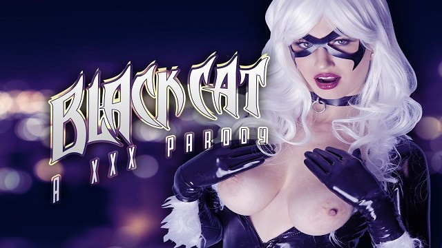 [VRCosplayX] - Angry And Horny - Busty Black Cat Becomes Angry And Horny For Spying On Her (2021 / UltraHD 2K 1440p)
