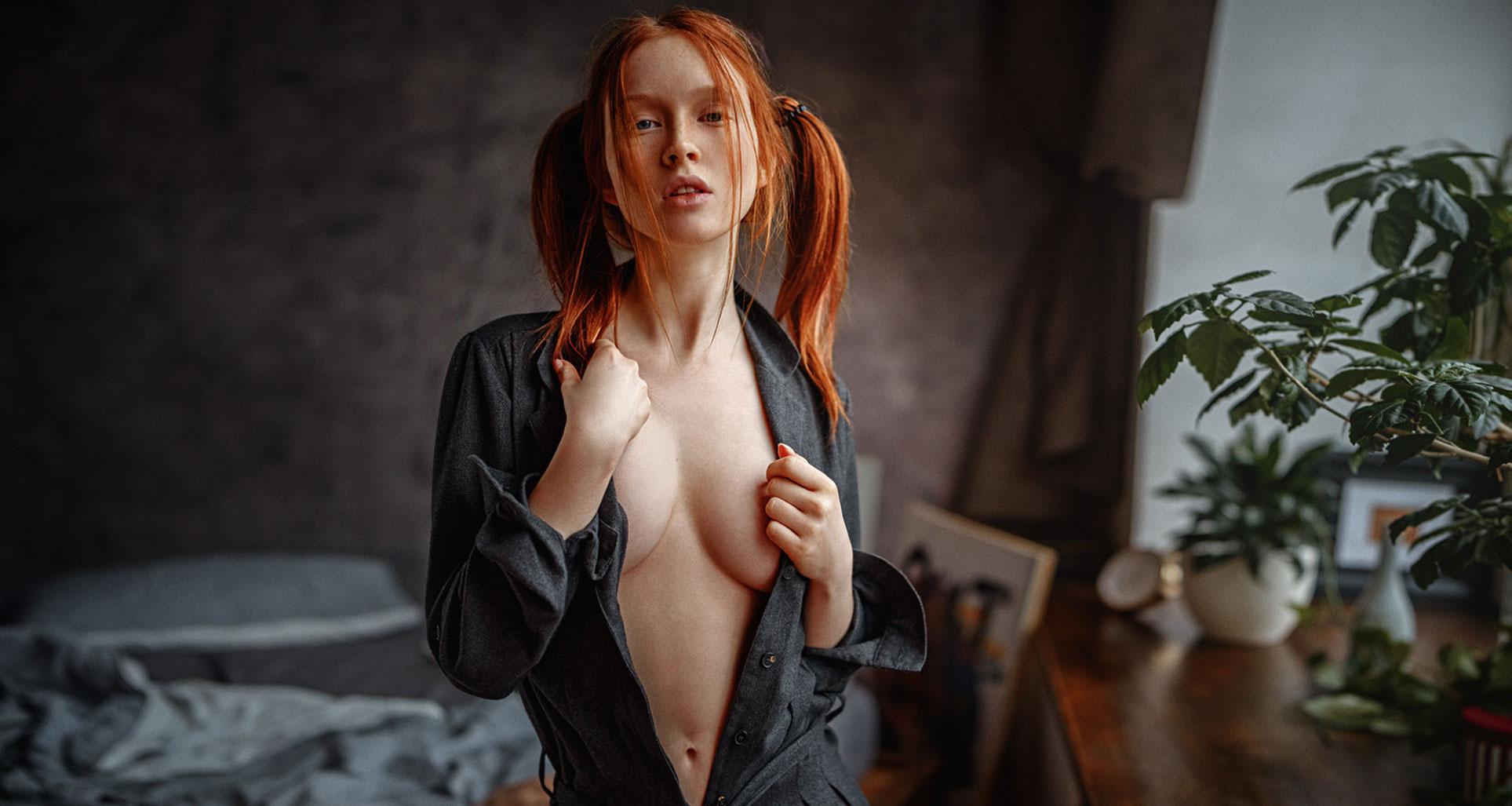 рыжая фотомодель Арина Бикбулатова / фото 16