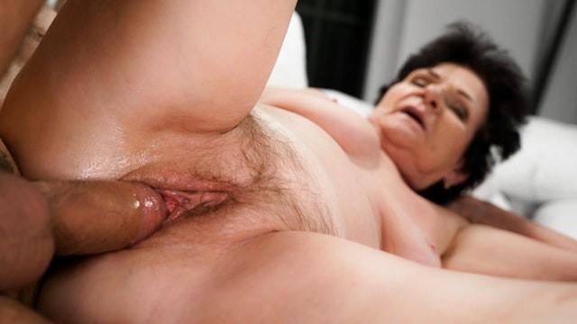 [LustyGrandmas] - Mugur - Thirsty Step-Granny is always there for my Cock! (2021 / FullHD 1080p)