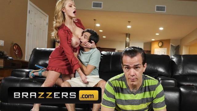 Brazzers: Busty MILF Joslyn James gets fucked hard by her sons friend - Joslyn James [2021] (FullHD 1080p)