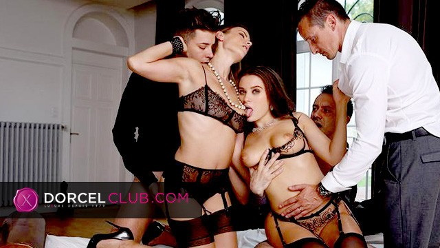 [DorcelClub] - Claire Castel, Alexis Crystal, Tiffany Tatum - Behind the scenes - Pornochic Claire Lana (2021 / FullHD 1080p)
