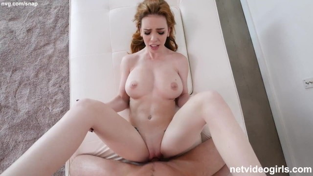 [NetVideoGirls] - Nala Brooks - Redhead With Perfect ALL NATURAL TITS Wanted A Creampie Deep Inside Her (2021 / FullHD 1080p)