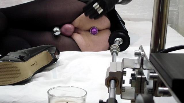 [VeronicaTaboo] - Veronica Taboo - ANAL PUMP  Sex Machine = SHEMALE CUMS HOT Veronica Taboo relaxes after hard work as a Mistress (2021 / FullHD 1080p)