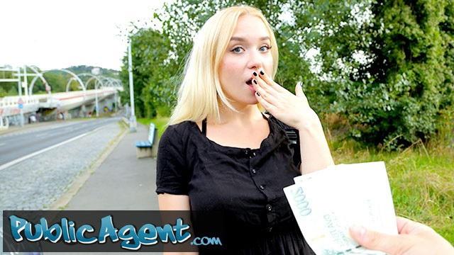 [PublicAgent] - Vera Jarw - Public Agent blonde teen Russian Vera Jarw fucked outside (2021 / FullHD 1080p)