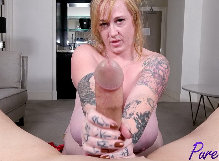 [Pure-BBW] - Thick Lizzy - Sucking a cock before sleep time (2021 / HD 720p)