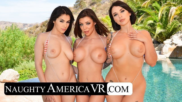 [NaughtyAmericaVR] - Valentina Nappi, Ivy Lebelle, Karma Rx - It s a Naughty America Day at the Pool with 3 hot babes (2021 / UltraHD 2K 1440p)