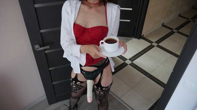 [MaryCherry] - Mary Cherry - Good Morning Starts With Strapon Ass Fuck.Mary Cherry (2021 / FullHD 1080p)