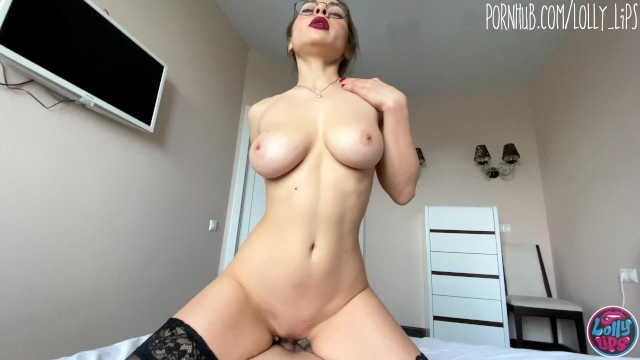 [lollylips] - lolly lips - pretty stepsister with big tits seduced me with her red lips (2021 / FullHD 1080p)