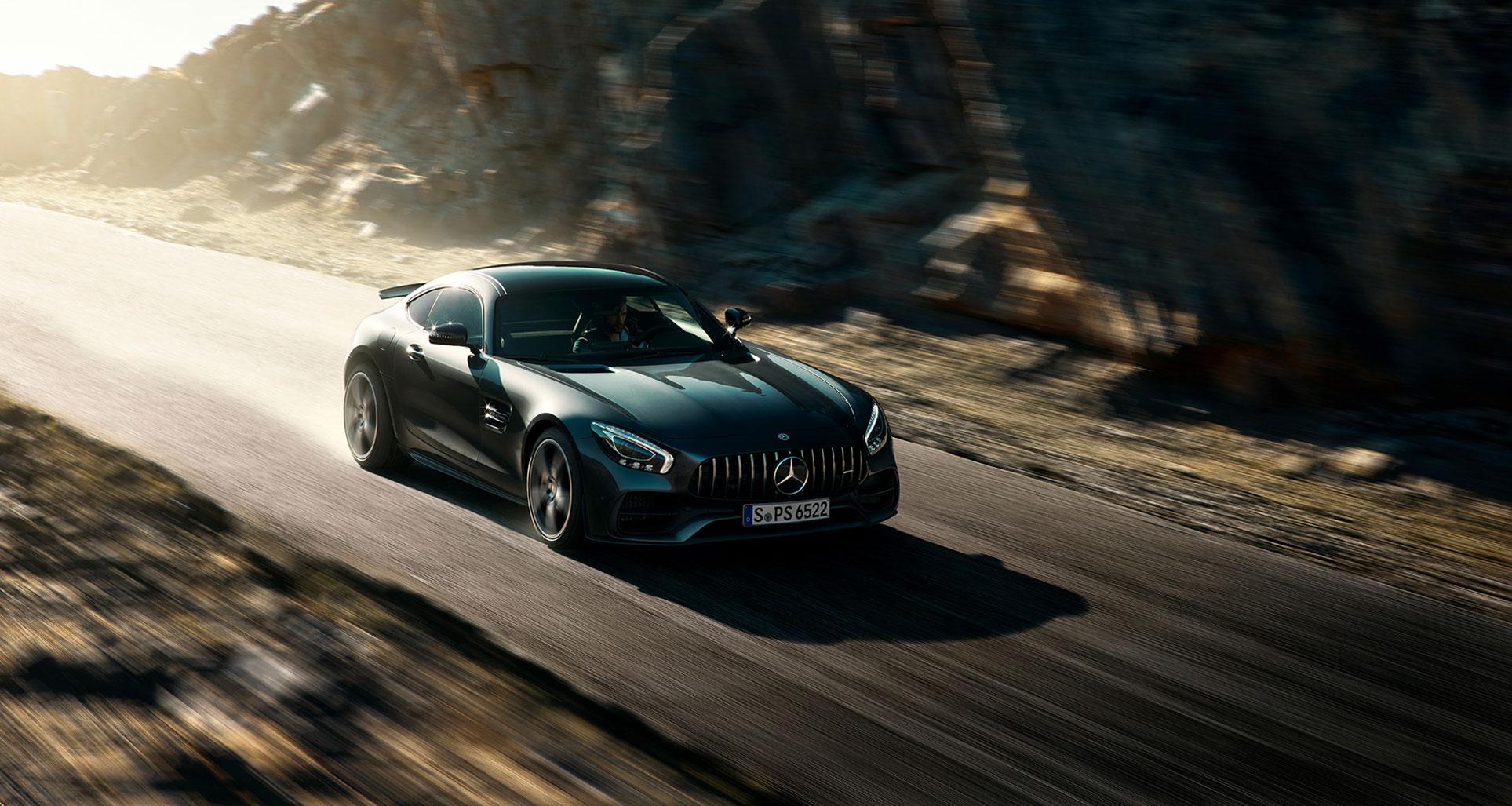Поездка по Испании на Mercedes-AMG GT S / фото 01
