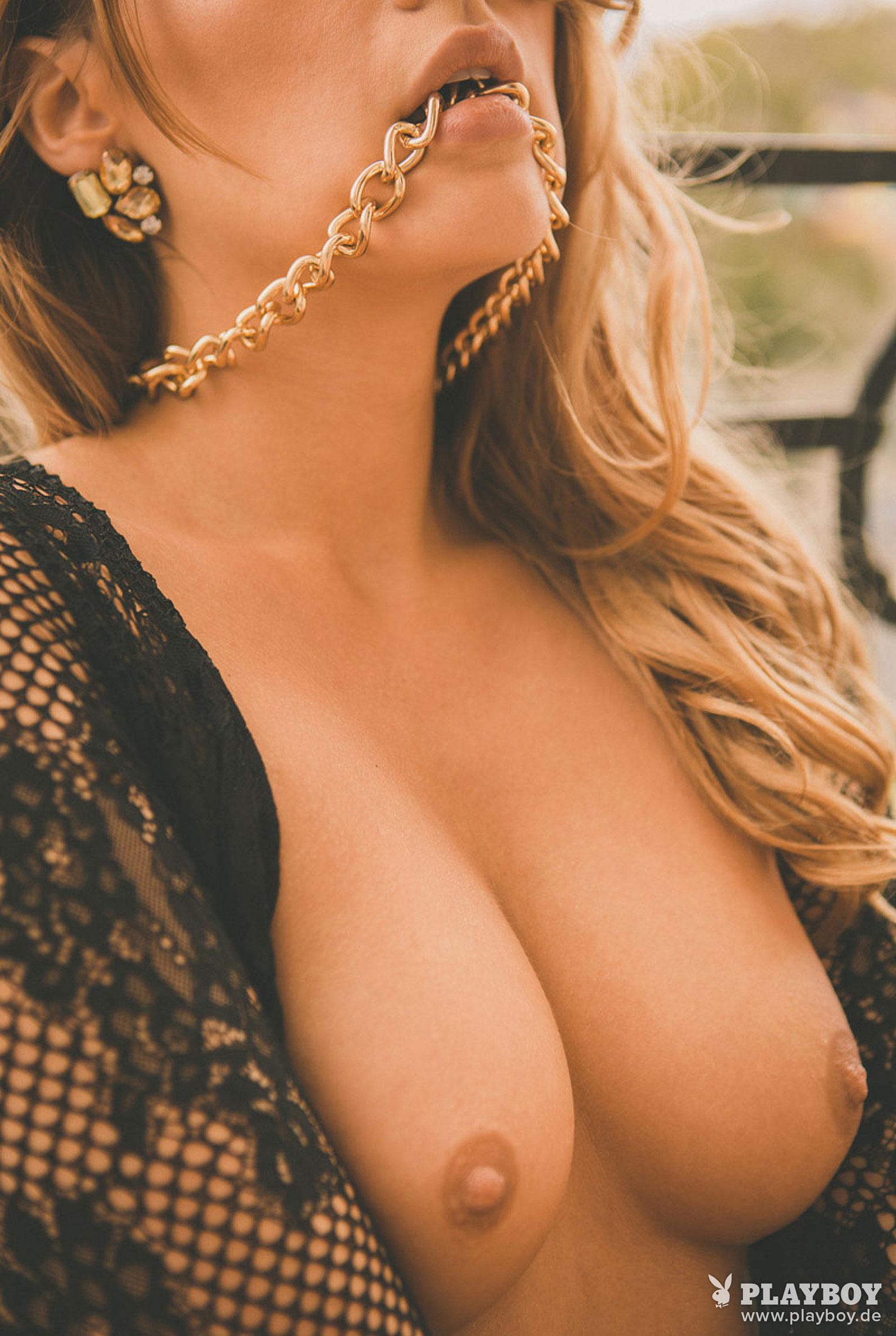 Девушка месяца Playboy Германия декабрь 2019 - Лена Беднарска / фото 11